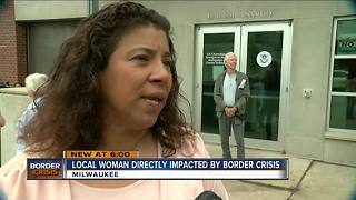 Milwaukee woman's family separated at the border - Video