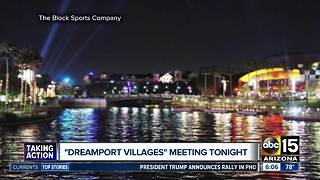 Weigh in on Casa Grande theme park plans on Wednesday night - Video