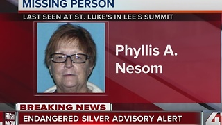 Silver Alert issued for missing Lee's Summit woman - Video