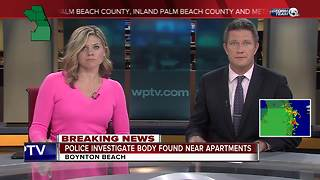 Man's body found on private beach in Boynton Beach - Video