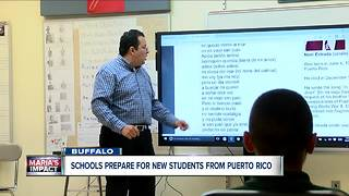 After devastation in Puerto Rico, Buffalo Schools expect influx of students from island - Video