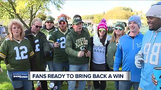 Catching up with Detroit Lions fans in Green Bay