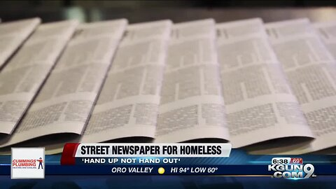 Tucson woman offering empowerment to homeless through words