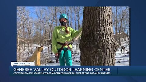 """Genesee Valley Outdoor Learning Center says """"We're Open Baltimore!"""""""