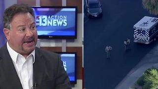 Randy Sutton comments on partner transporting shot Las Vegas police officer to hospital - Video