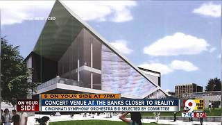 Concert venue at The Banks closer to reality
