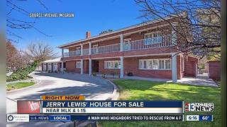 Former home of Jerry Lewis for sale - Video