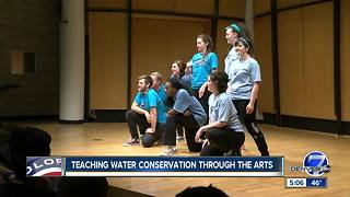 MSU Denver uses theater to teach kids about water conservation - Video