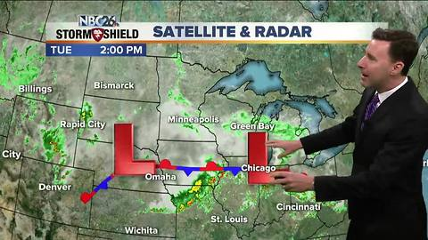 Michael Fish's NBC26 afternoon weather update