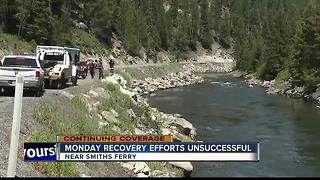 Search and Rescue crews unsuccessful in locating submerged car in Payette River - Video