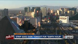 Las Vegas Strip will go dark for Earth Hour on Saturday - Video