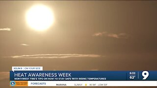 Staying safe in the heat as temps start to rise
