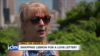 'Love Letter to Cleveland' needs a new home, could replace LeBron banner - Video