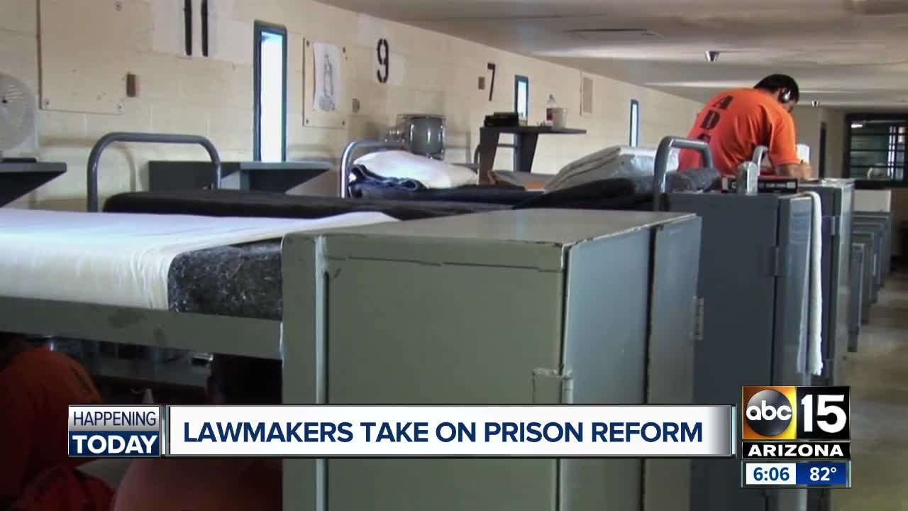 Lawmakers taking on prison reform