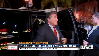 Stallone denies Las Vegas sexual assault allegations - Video