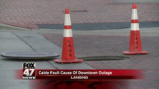 Underground incident leaves 9 businesses without power - Video