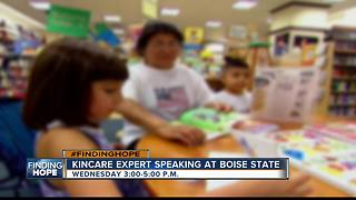 Kincare expert speaking at Boise State Wednesday - Video