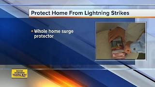 Protecting your home from lightning strikes - Video
