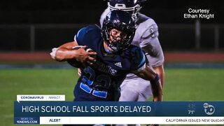 High school fall sports delayed