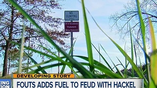 Fouts adds fuel to feud with Hackel - Video