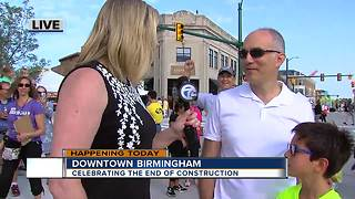 Downtown Birmingham reopens roads after summer-long construction project - Video