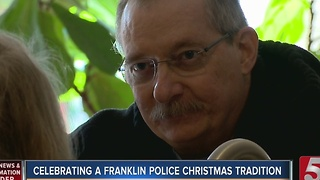 Franklin Family Hosts Last Police Christmas Dinner - Video