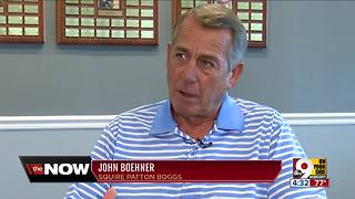 John Boehner discusses his marijuana stance - Video