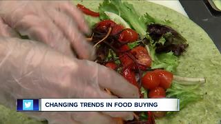 Changing trends in food buying - Video
