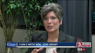 1-on-1 with Rep. Joni Ernst - Video