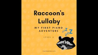 Piano Adventures Lesson Book A - Raccoon's Lullaby