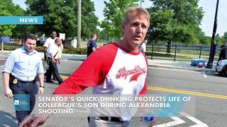 Senator's Quick Thinking Protects Life Of Colleague's Son During Alexandria Shooting - Video