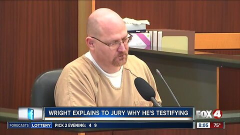 Wright explains to the jury why he's testifying against Rodgers