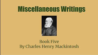 Miscellaneous Writings of CHM Book 5 The Great Commission Part 6 Audio Book