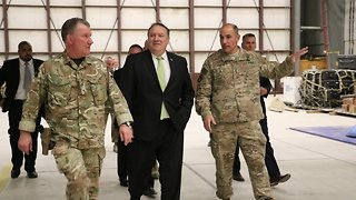 Why The US Is Trying To Talk To The Taliban — Again - Video