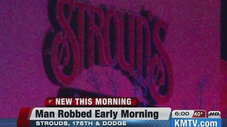 Police: Man robbed overnight while working - Video