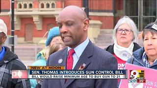 Ohio State Sen. Cecil Thomas introduces legislation to 'curb gun violence' - Video