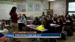 Local teachers and students share tips to reduce anxiety for ACT - Video
