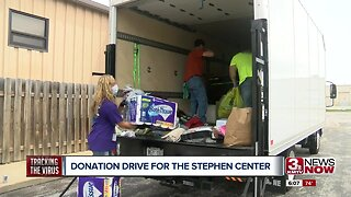 Donation drive for the Stephen Center