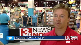 Pileup the pantry at Nebraska Furniture Mart - Video