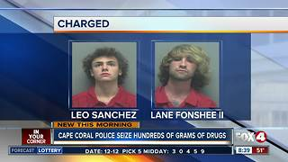Traffic stop leads to marijuana arrests - Video