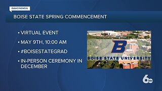Boise State releases online commencement details