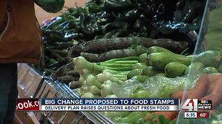Trump proposes a Blue Apron-style delivery overhaul for food stamp system - Video