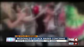 Teens Brawl at Cape McDonalds - Video