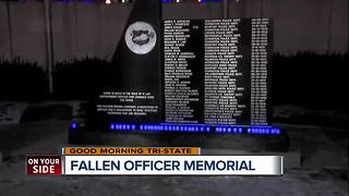 Covington police officers honor 20th anniversary of fallen comrade's death - Video
