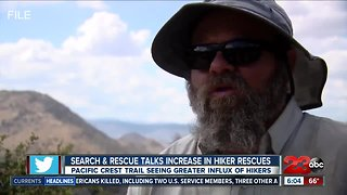 Rescues increasing along Pacific Crest Trail
