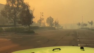 Wind-Driven Fires Spread in Southern California - Video