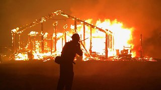 California Is Battling Several Wildfires - Video