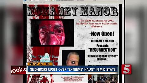 McKamey Manor Scares Participants And Neighbors Alike
