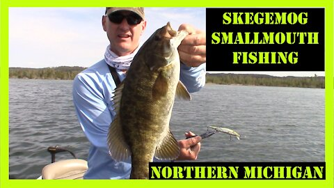 Skegemog Smallmouth Fishing Northern Michigan