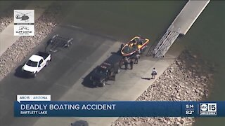 One dead after boating accident at Bartlett Lake